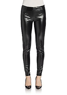 French Connection Killacroc Faux Leather Leggings