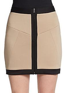 Robert Rodriguez Framed Techno Skirt