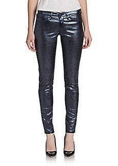 AG Adriano Goldschmied Absolute Metallic Coated Jeggings
