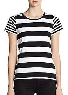 French Connection Fun Stripe Short-Sleeve Tee