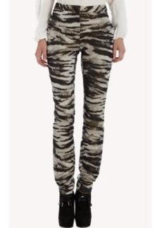Lanvin Zebra Cropped Pant