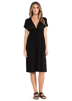 James Perse Empire Dress in Black