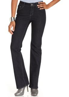 DKNY Jeans Petite Jeans, Soho Bootcut-Leg, Stockholm Wash