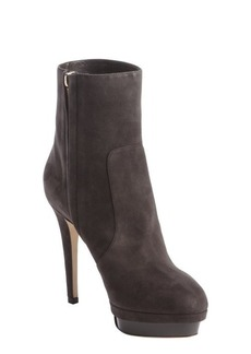Jimmy Choo grey suede ankle boots