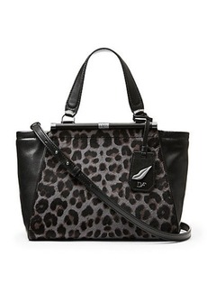 440 Breakaway Leopard Haircalf Satchel