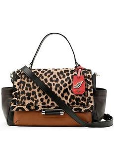 440 Courier Leopard Haircalf Bag