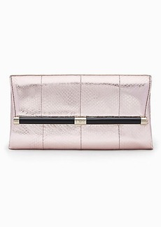 440 Envelope Metallic Snake Clutch