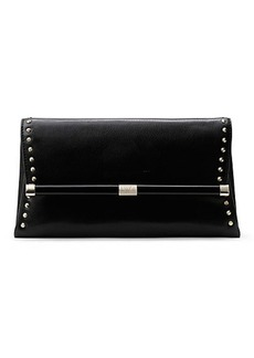 440 Envelope Studded Leather Clutch