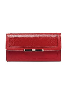 440 Flap Continental Leather Wallet