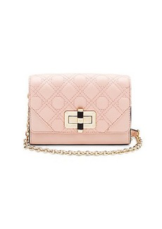 440 Gallery Micro Mini Quilted Leather Crossbody Bag