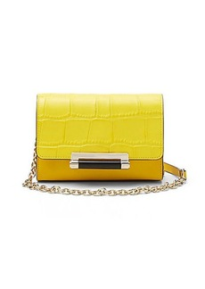 440 Micro Mini Croc Crossbody Bag