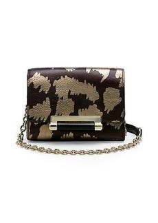 440 Micro Mini Metallic Leather Crossbody Bag