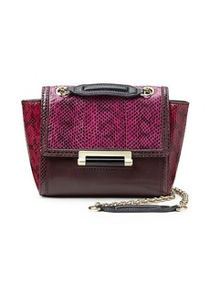 440 Mini Colorblock Snake Crossbody Bag