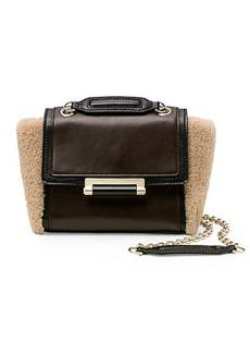 440 Mini Shearling Crossbody Bag