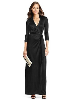 Abigail Cocktail Jersey Maxi Wrap Dress
