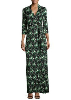 Abigail Floral Jersey Maxi Wrap Dress   Abigail Floral Jersey Maxi Wrap Dress