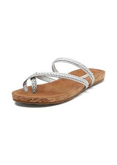 Adelia Metallic Flat Sandal