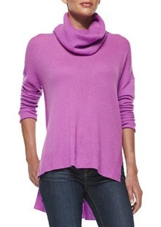 Ahiga Loose-Turtleneck Cashmere Sweater   Ahiga Loose-Turtleneck Cashmere Sweater