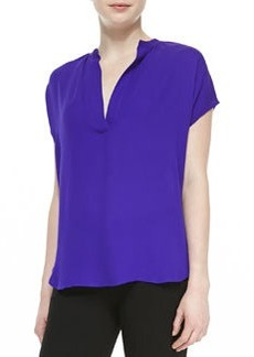 Alana Short-Sleeve V-Neck Shirt   Alana Short-Sleeve V-Neck Shirt