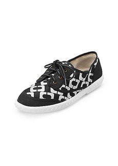 Bea Too Chain Link Printed Sneaker