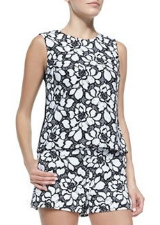 Betty Lace-Front Tank   Betty Lace-Front Tank