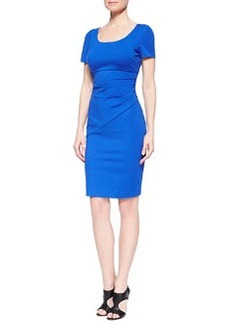 Diane von Furstenberg Bevina Short-Sleeve Fitted Dress