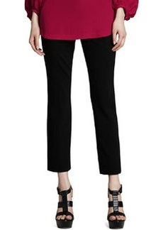 Carissa Cropped Ponte Knit Pants   Carissa Cropped Ponte Knit Pants