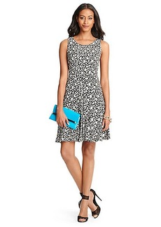 Clara Leopard Print Flared Dress