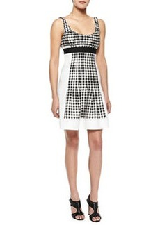 Daisy Empire-Waist Gingham Dress   Daisy Empire-Waist Gingham Dress