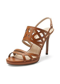 Dakota Cutout Leather Sandal
