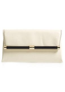 Diane von Furstenberg '440' Lizard Embossed Leather Envelope Clutch
