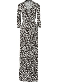 Diane von Furstenberg Abigail wrap-effect stretch-jersey dress