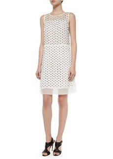 Diane von Furstenberg Abriela Embellished Dress, Ivory