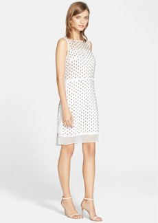 Diane von Furstenberg 'Abriela' Studded Silk Shift Dress