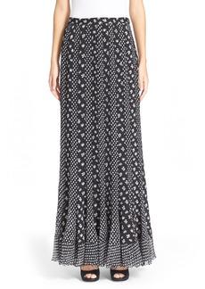 Diane von Furstenberg 'Addyson' Mixed Print Maxi Skirt