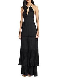 Diane von Furstenberg Aden Woven Maxi Dress