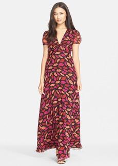Diane von Furstenberg 'Adrienne' Print Silk A-Line Dress
