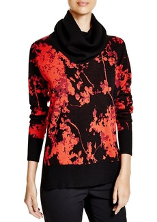 DIANE von FURSTENBERG Ahiga Floral Jacquard Sweater