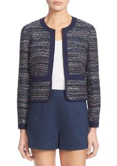 Diane von Furstenberg 'Alberta' Woven Tweed Jacket