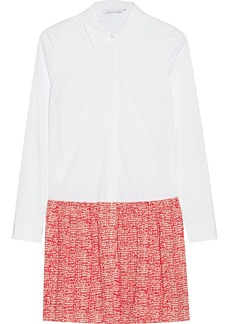 Diane von Furstenberg Alison cotton and silk-blend dress