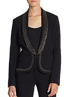 Diane von Furstenberg Alyona Studded Blazer