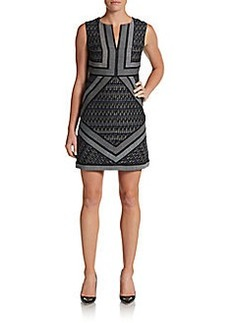 Diane von Furstenberg Amanda Splitneck Dress