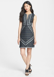 Diane von Furstenberg 'Amanda' Woven Sheath Dress