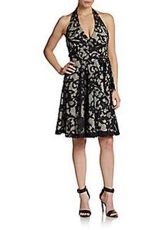 Diane von Furstenberg Amelia Lace Halter Dress