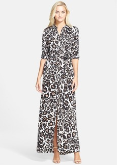 Diane von Furstenberg 'Amina' Silk Maxi Dress