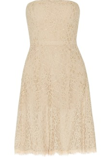 Diane von Furstenberg Amira lace mini dress