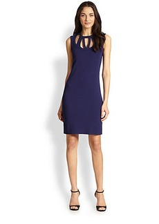 Diane von Furstenberg Amy Cutout Sleeveless Dress