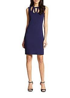 Diane von Furstenberg Amy Cutout Sleeveless Dress