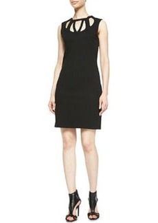 Diane von Furstenberg Amy Knit Cutout Dress