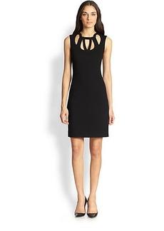 Diane von Furstenberg Amy Sleeveless Cutout Dress